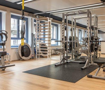 Trainingsbereich Physiozentrum ZHHB